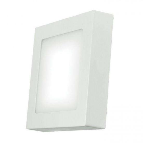 LED stropna svjetiljka Emos Panel S18W NW bijela kvadratna
