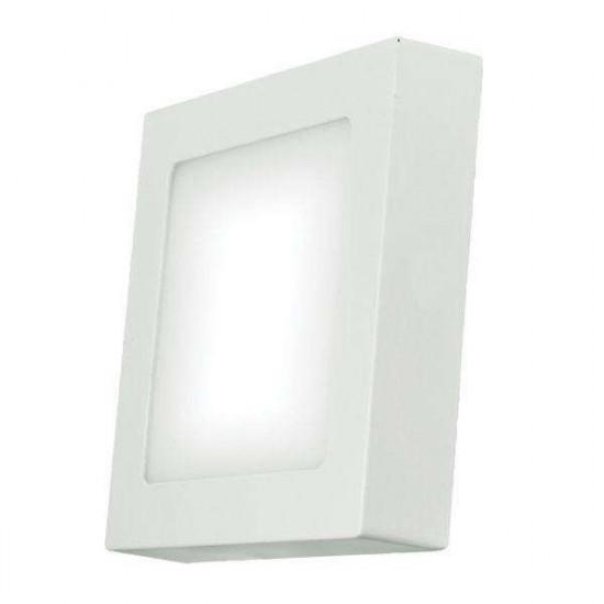 LED stropna svjetiljka Emos Panel S12W NW bijela kvadratna