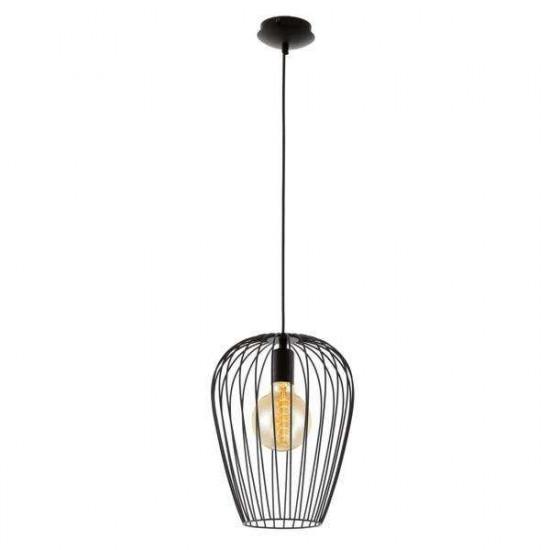 Viseća svjetiljka Eglo 49472 Newtown crna