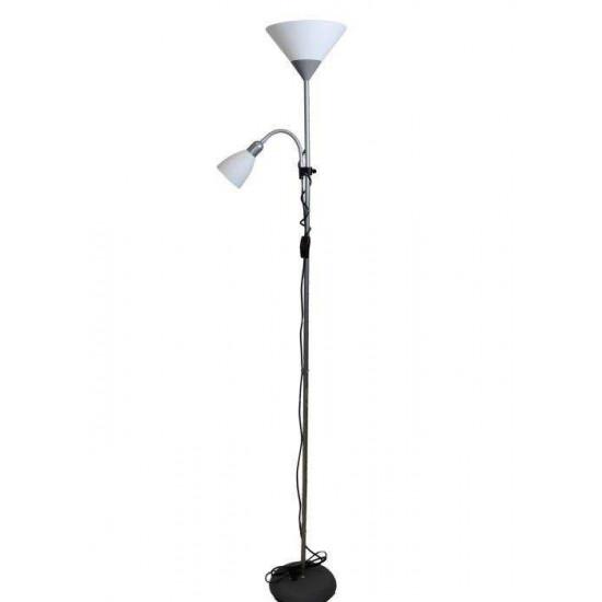 Podna svjetiljka Ferotehna Home srebrna