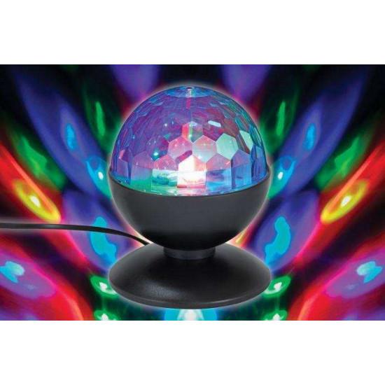 LED stolna svjetiljka Prisma RGB disco