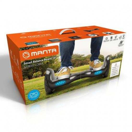 Pametna skuter rolka MANTA MSB002 COBRA Smart Balance Board 10''