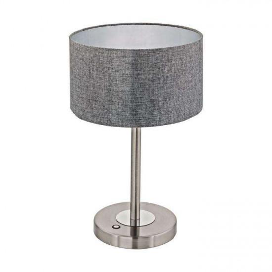 Stolna svjetiljka Eglo Romao 12W siva