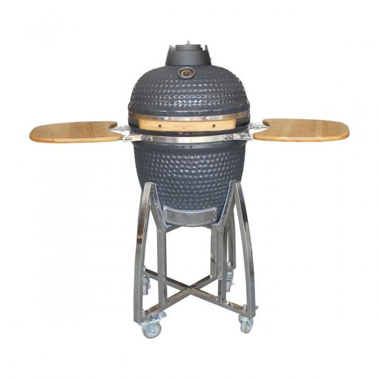 Keramički roštilj na uglje BIVA 45cm sivi