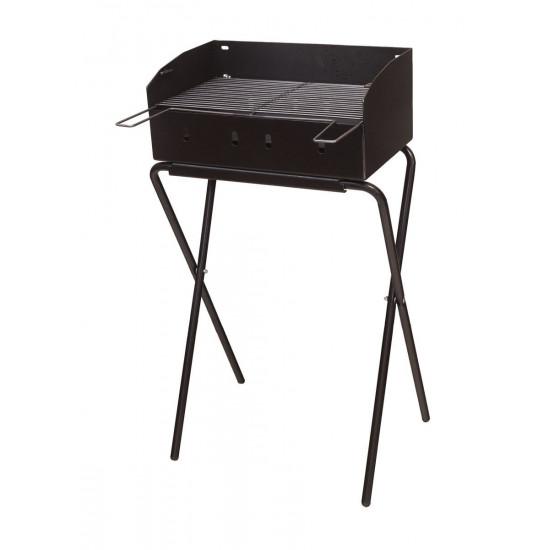Rošilj na ugljen ELPLIN crni 30x47 cm sa nogama