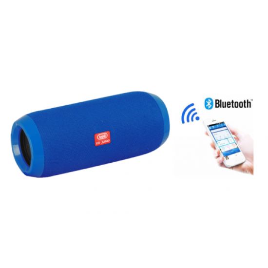 Bluetooth zvočnik TREVI XR JUMP XR 84 PLUS, BT, USB, MP3, MicroSD, AUX-IN, Radio FM, baterija, modri